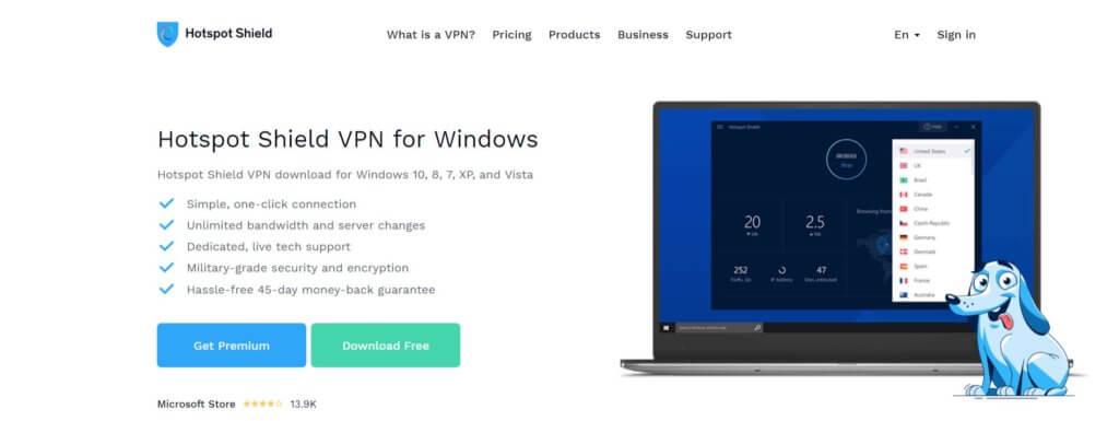 Hotspot Shield VPN для ПК