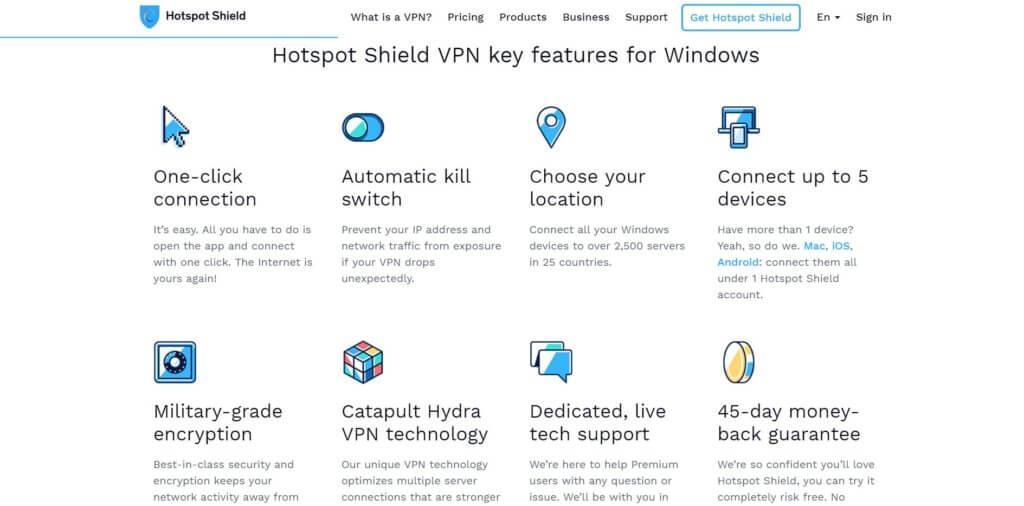 HotspotShield VPN для Яндекс.Браузера