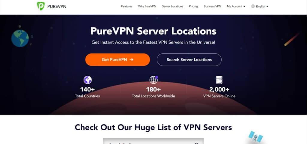 PureVPN для Chrome