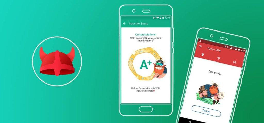 Opera VPN для смартфонов